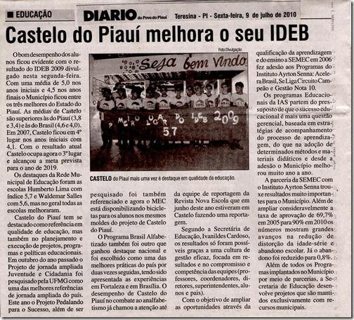 Reprtagem_IDEB_ Castelo do Piaui